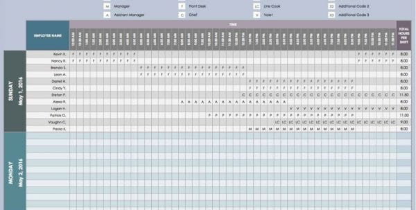 Work Plan Template Microsoft Office