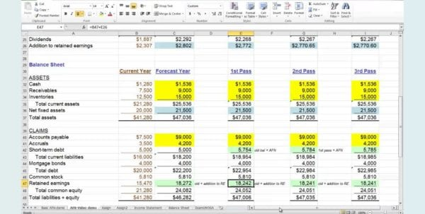5 Year Financial Plan Template Personal 1 Financial Planning Excel