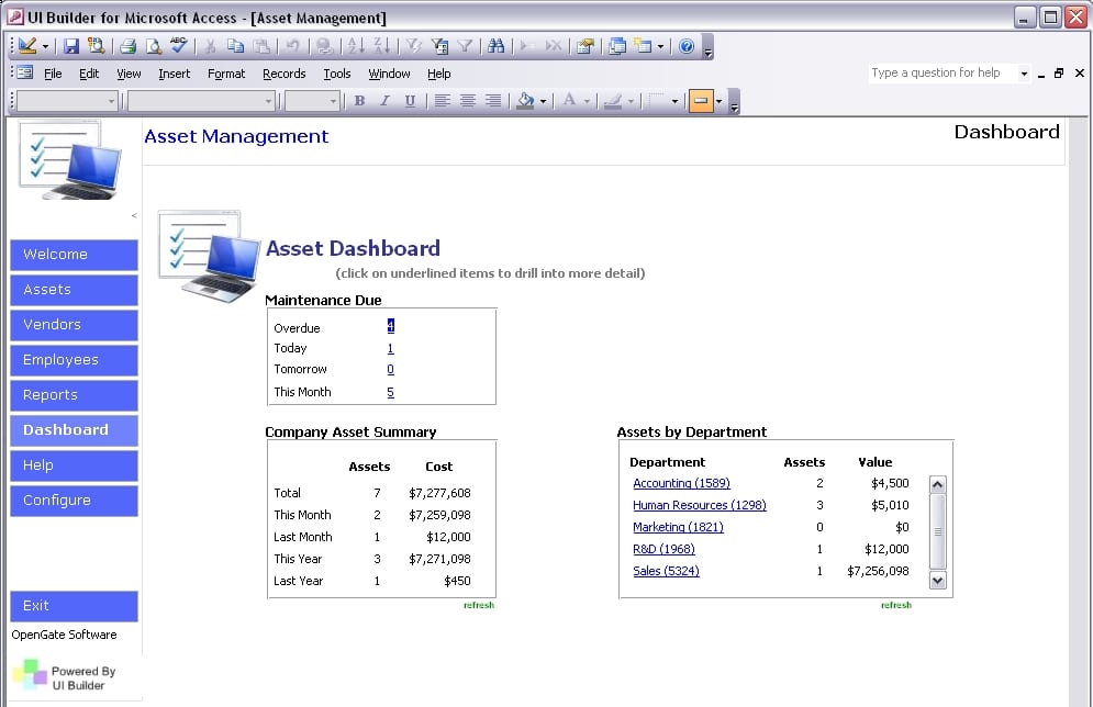 Asset Inventory Excel