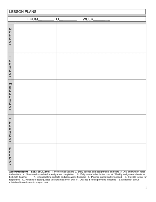 Creating A Worksheet Template
