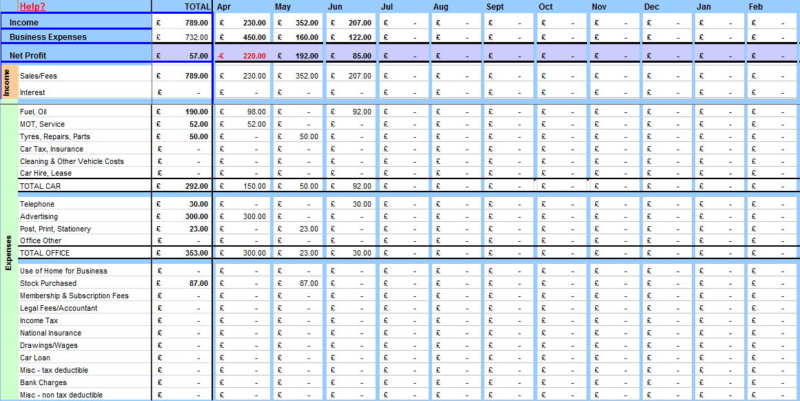Simple Bookkeeping Spreadsheet Template Free Examples Sheet Basic In Excel