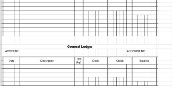 Trial Balance Excel Template