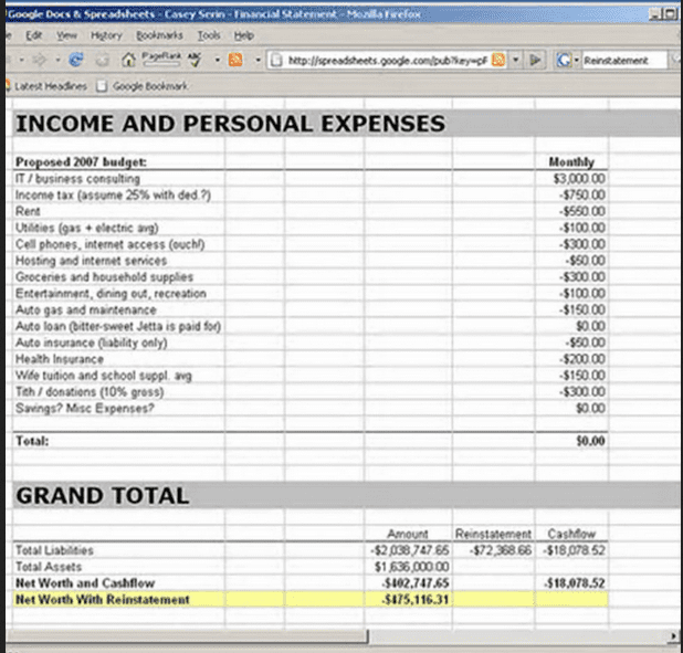 Trial Balance Template Free Download