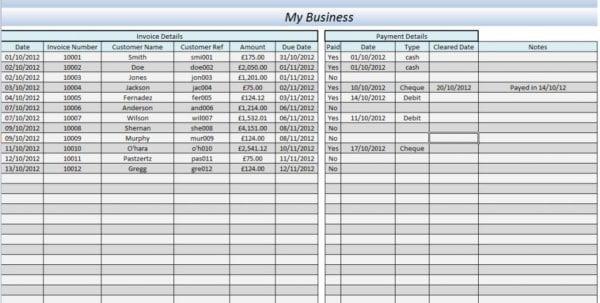 Accounting Excel Program