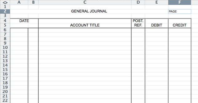 accounting journal entry template excel koni polycode co