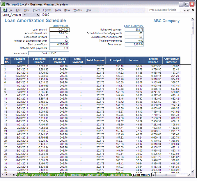 Balance Sheet And Profit And Loss Account Format In Excel Download