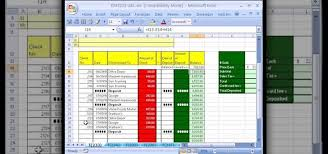 Bank Account Excel Spreadsheet Template