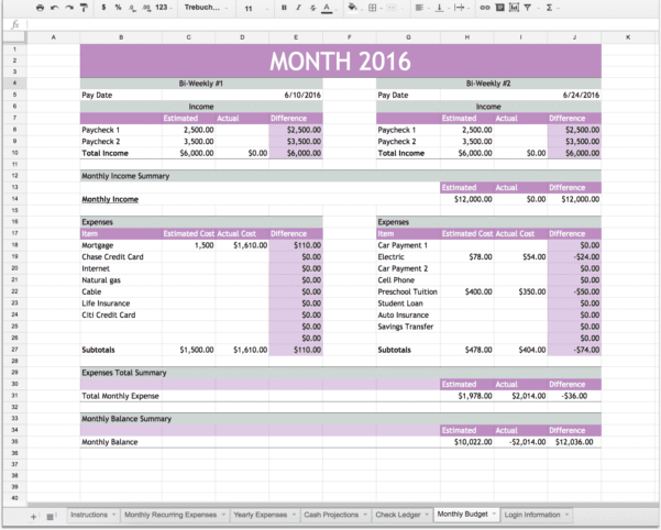 Budget Planner Free 1