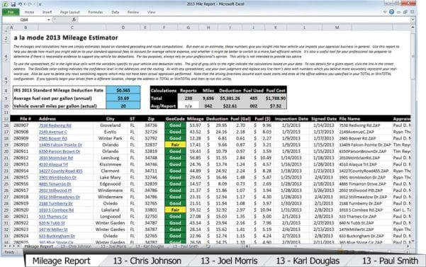 Business Expense Spreadsheet Free Download