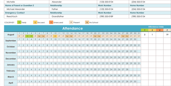 Free Employee Attendance Tracker Daily Employee Attendance Sheet In Excel Employee Monthly Attendance Sheet Template Excel Attendance Sheet In Excel For Office Attendance Tracking Sheet Sample Words Employee Attendance Tracker Excel 2016 Free Printable Employee Attendance Tracker
