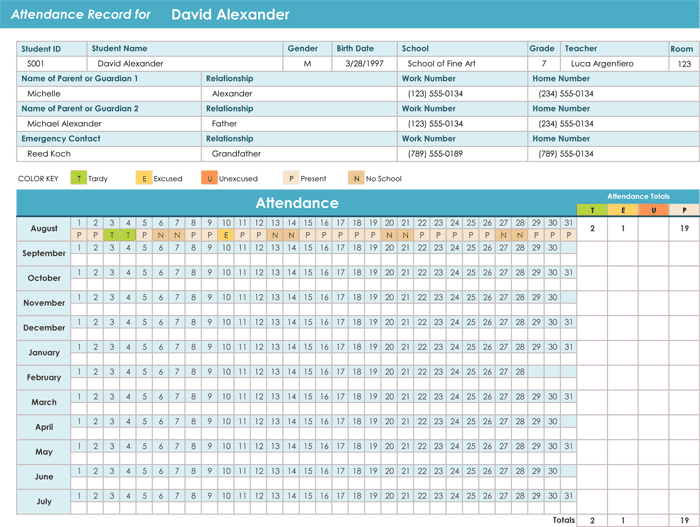 Employee Attendance Tracker Excel 2016 Attendance Tracking Spreadsheet Template Spreadsheet Templates for Business Tracking Spreadshee Spreadsheet Templates for Business Tracking Spreadshee Free Printable Employee Attendance Tracker