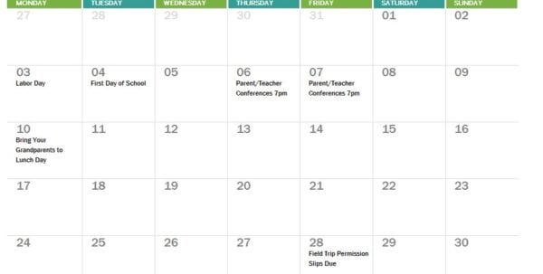 Excel Bookkeeping Template