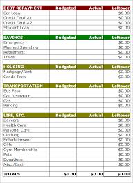 Excel Budget Planner