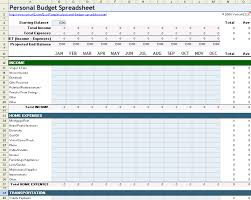 Excel Monthly Budget Template