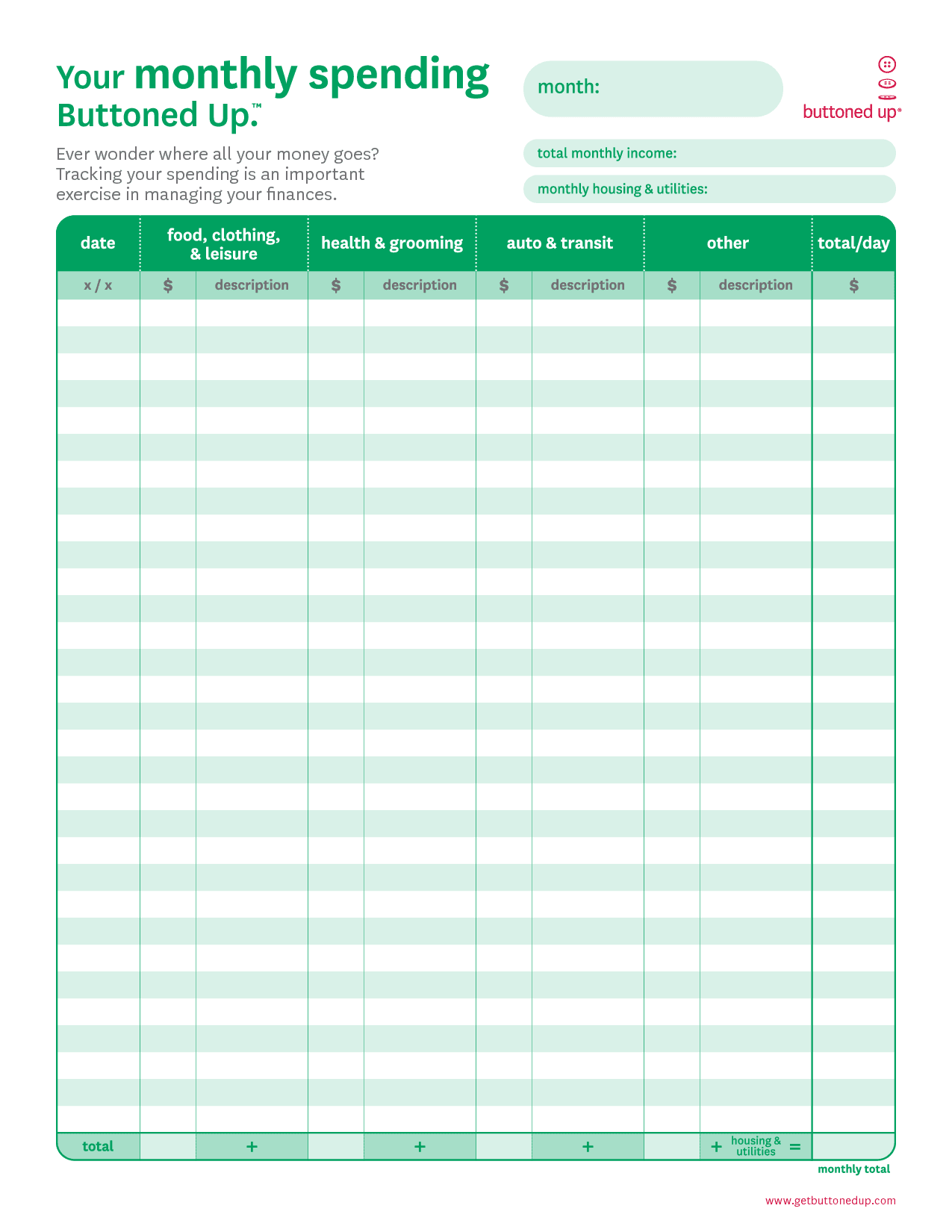 Excel Worksheet Templates