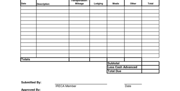 Expense Report Program Company Expense Report Spreadsheet Templates for Business