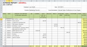 Expense Report Template Free Printable