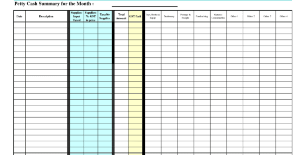 expense report template google docs generic expense report
