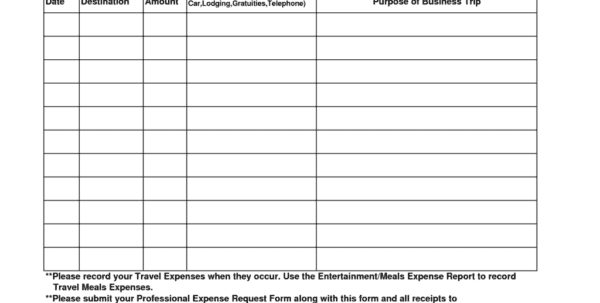 Expense Report Template Word 3 Generic Expense Report Spreadsheet Templates for Business