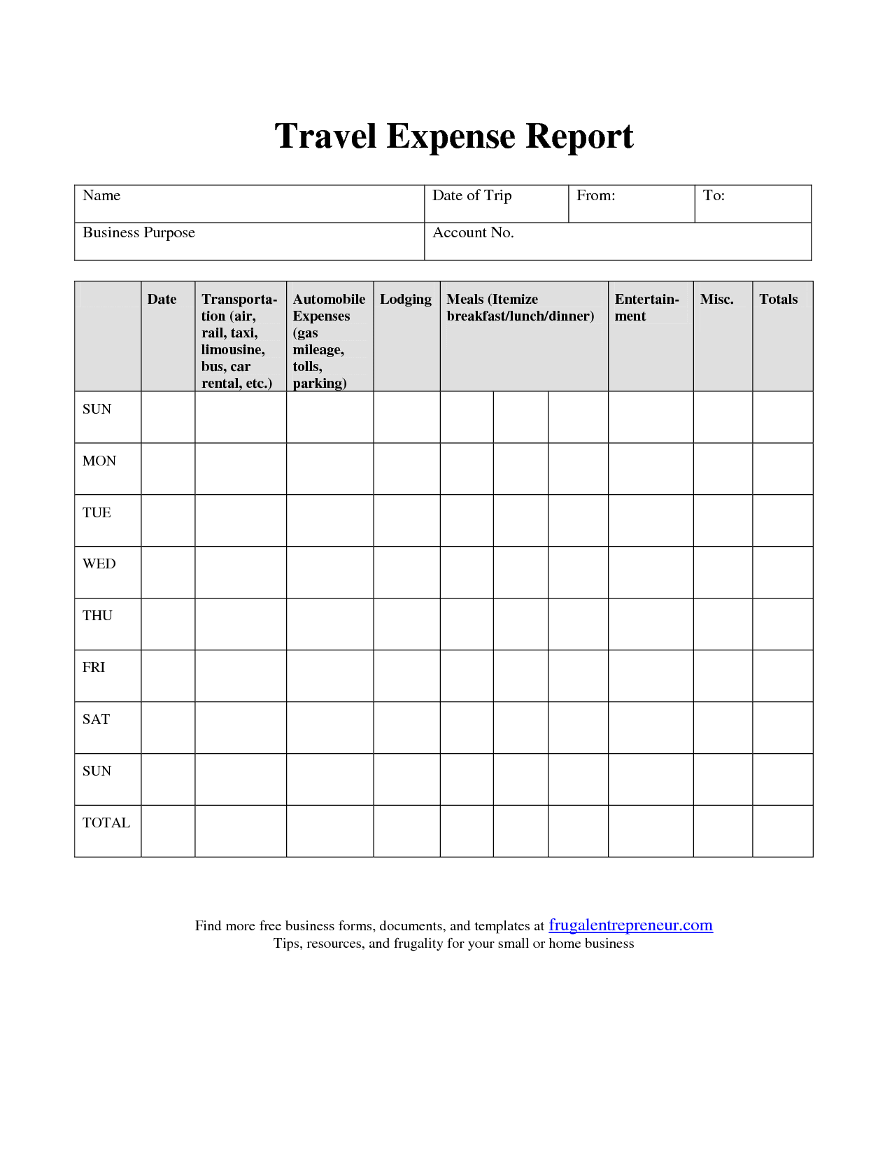 office expense report spreadsheet templates for busines monthly expense report template. Black Bedroom Furniture Sets. Home Design Ideas