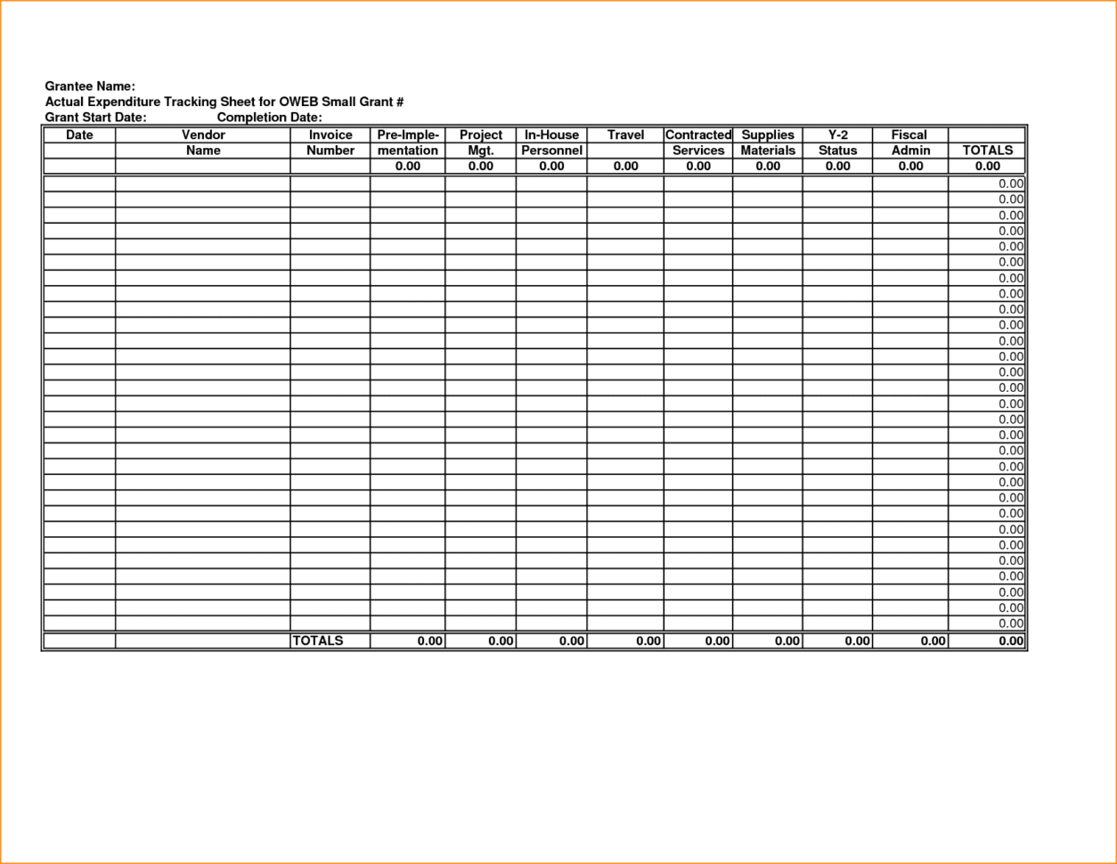 Expense Reports Free Templates