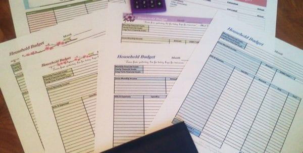 Financial Planner Sheet