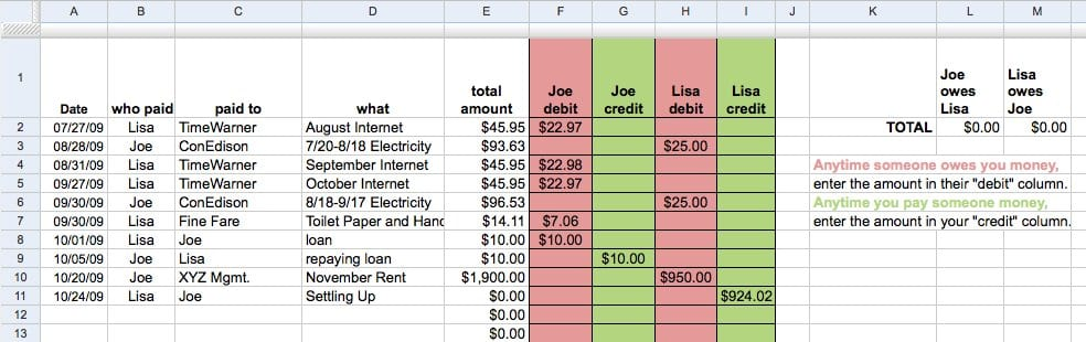 Free Accounting Spreadsheet Templates