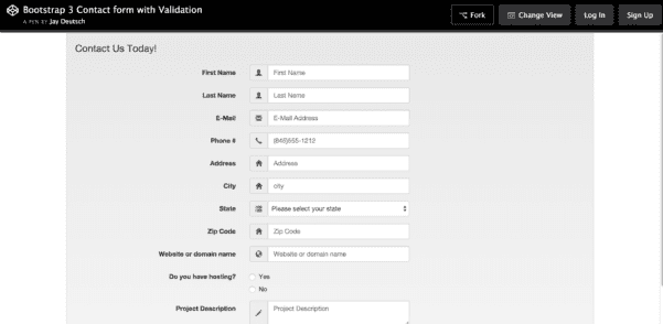 Free Address List Template
