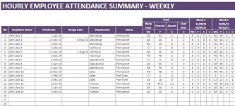 Free Employee Attendance Tracker