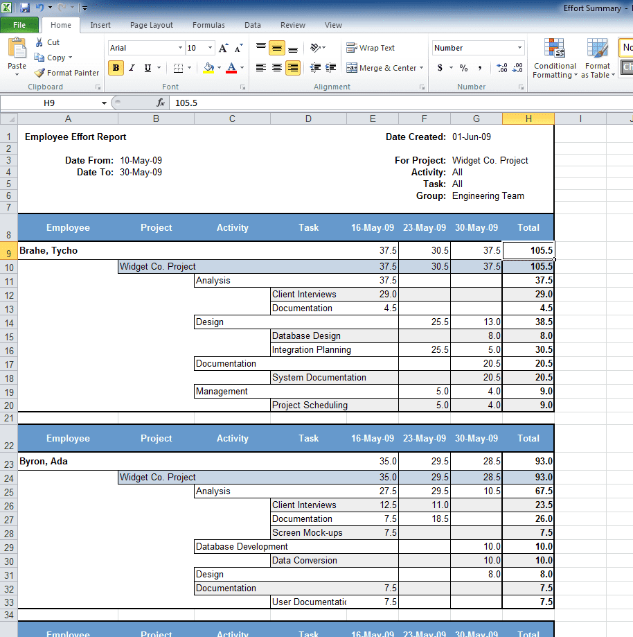 Free Expense Report Form Excel 1