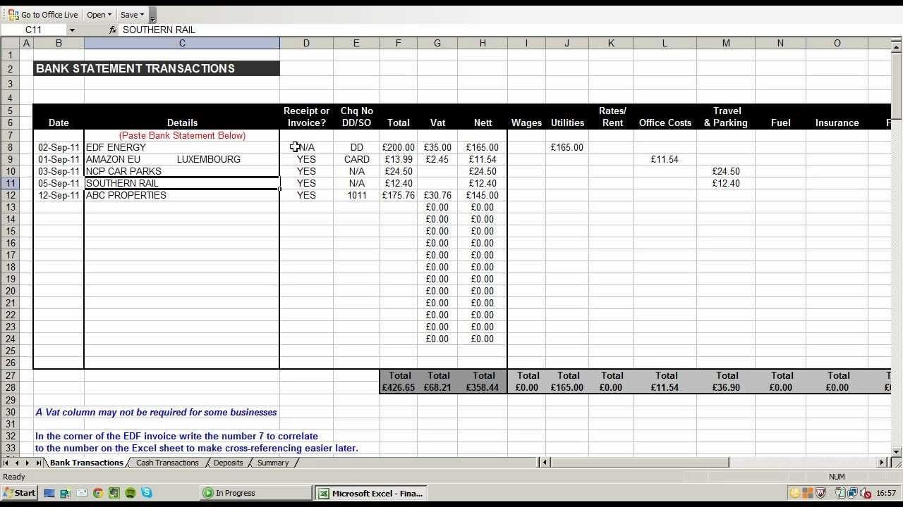 Free Profit And Loss Sheet