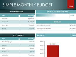Household Budget Spreadsheet