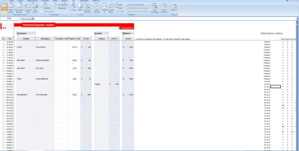 Monthly Bills Spreadsheet Template Excel How To Track Expenses In Excel Spreadsheet Templates for Business
