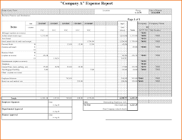 Monthly Expense Report Template 1