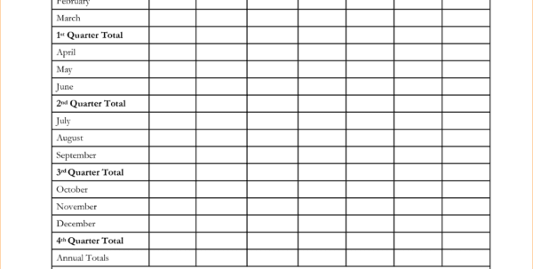 Monthly Expense Report Template 6 Yearly Expense Report Template Spreadsheet Templates for Business