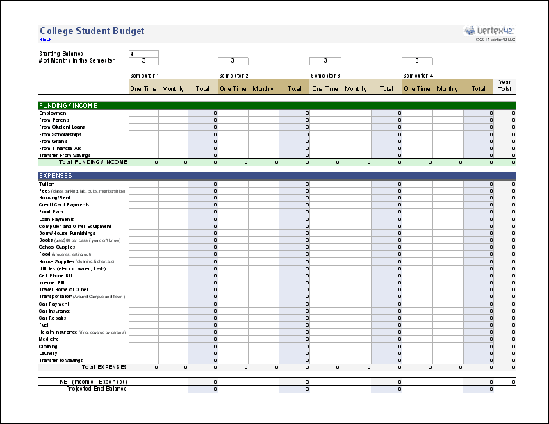 Personal Budget Planner
