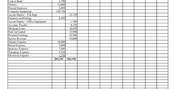 Printable Accounting Spreadsheet Blank Accounting Spreadsheet Accounting Spreadsheet