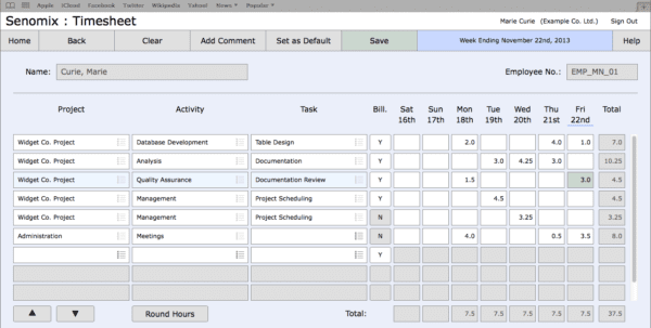 Project Expense Tracking Spreadsheet