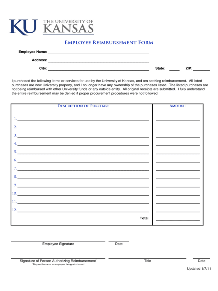 Easy Mileage Reimbursement Sheet Template Expense Reimbursement Form Pdf Expense Reimbursement Form Doc Sample Expense Reimbursement Form General Reimbursement Form Employee Expense Report Template Reimbursement Request Form  Reimbursement Request Form Reimbursement Sheet Template Spreadsheet Templates for Busines