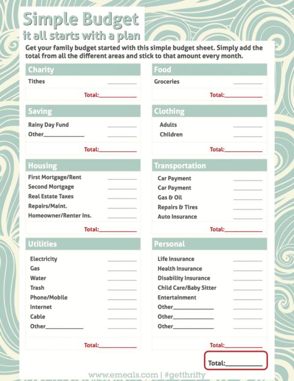 Simple Expense Reimbursement Form