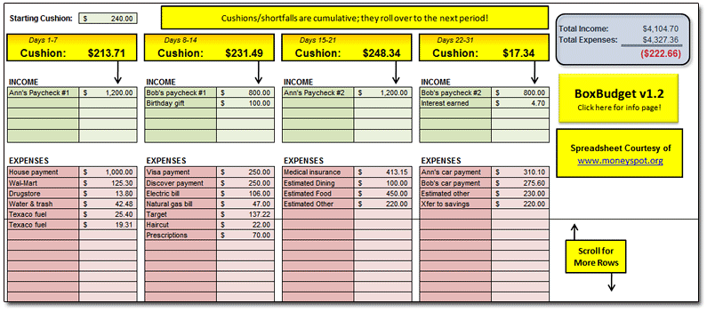 Stock Portfolio Excel Spreadsheet Download