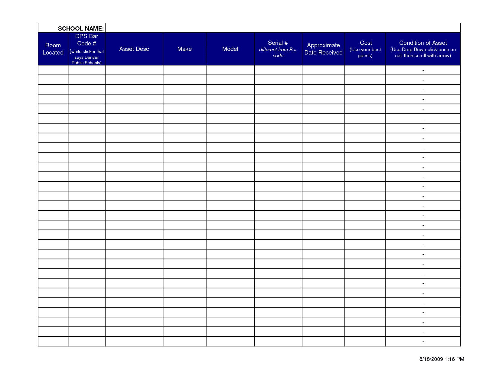 Travel Expense Report Template 3
