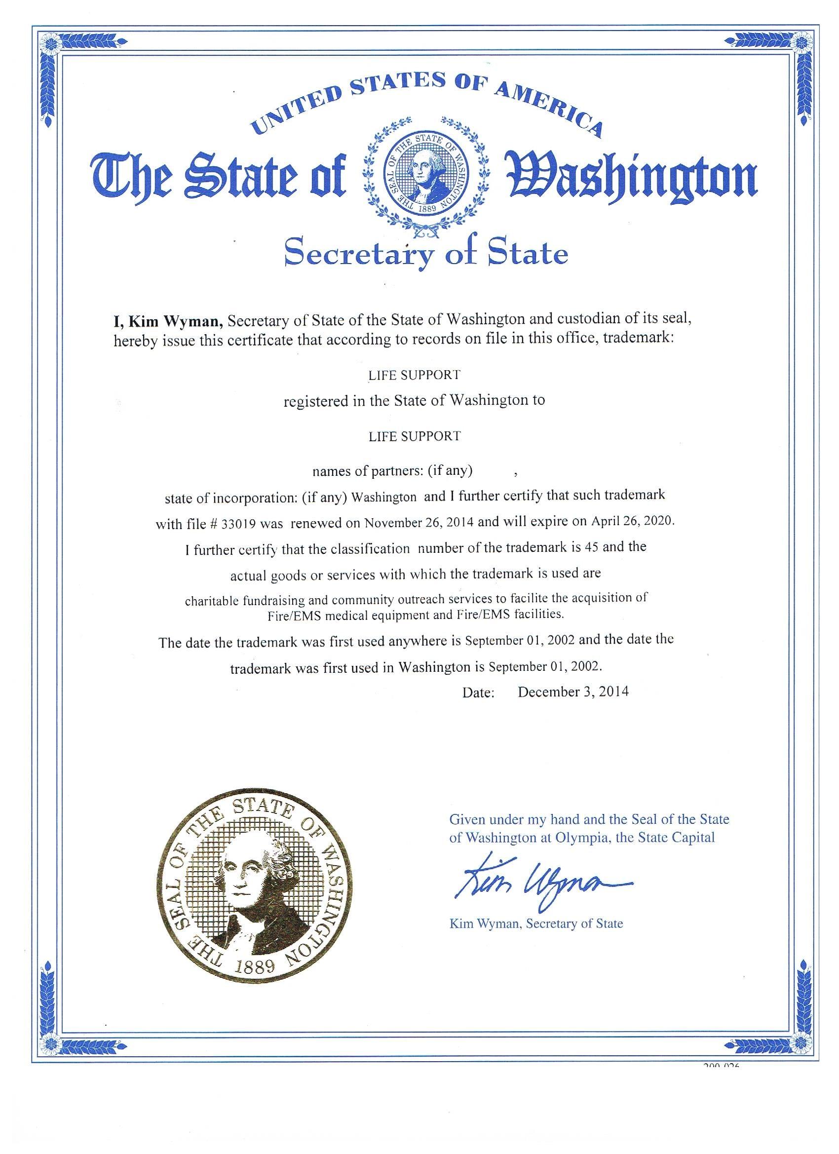 Business License Washington State Renewal