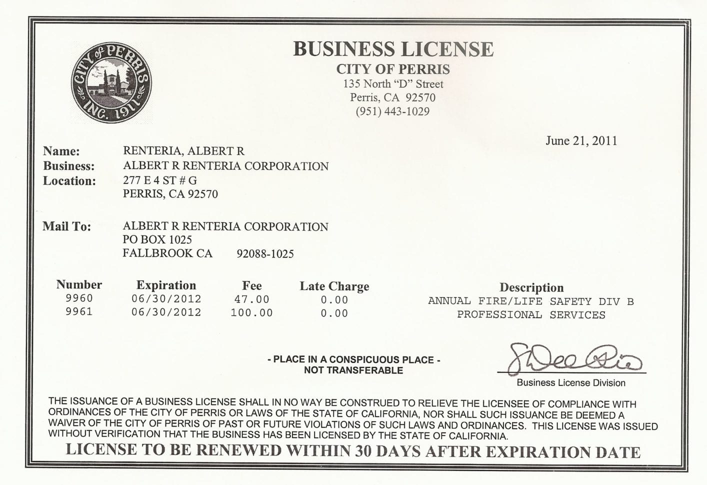 Business License In Maryland