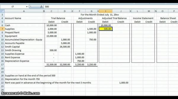 Business Spreadsheet