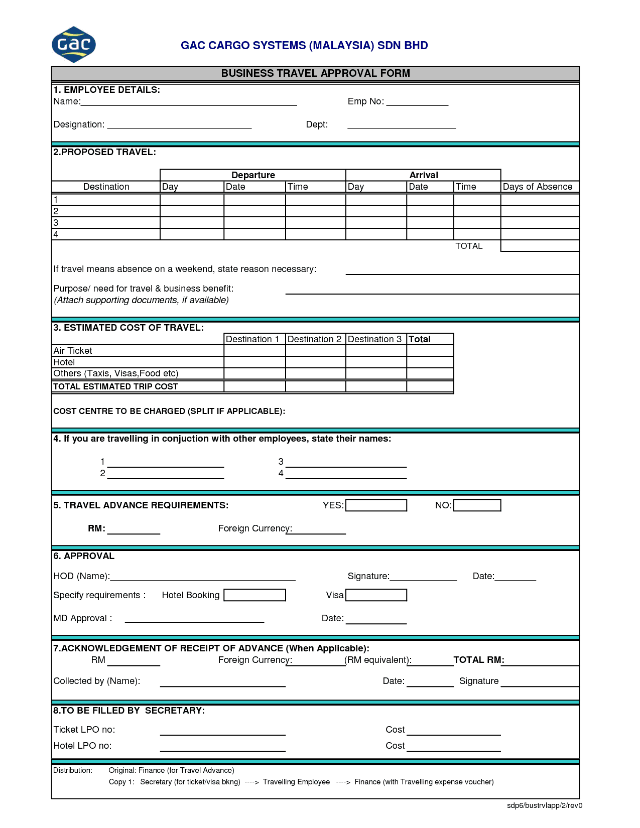 Create A Business Form