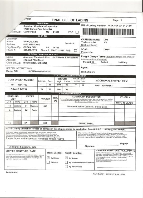 Dental Billing Statments Template