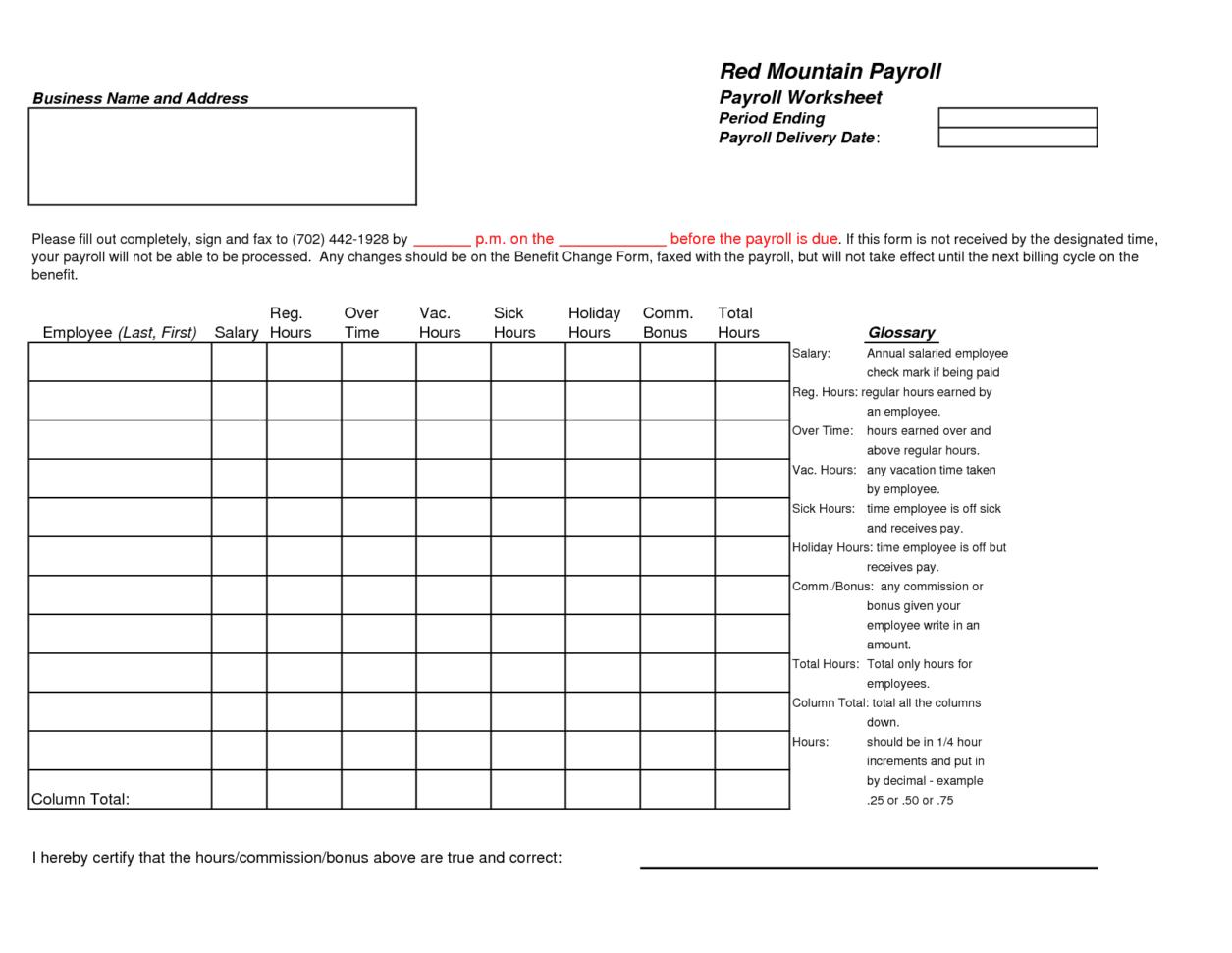 Weekly Payroll Spreadsheet Template Excel Payroll Template 2016 How To Create Payroll In Excel Free Payroll Spreadsheet Excel Payroll Template 2015 Payroll Calculation In Excel Sheet Payroll Template Excel  Excel Certified Payroll Template Free Payroll Spreadsheet Template Spreadsheet Templates for Busines