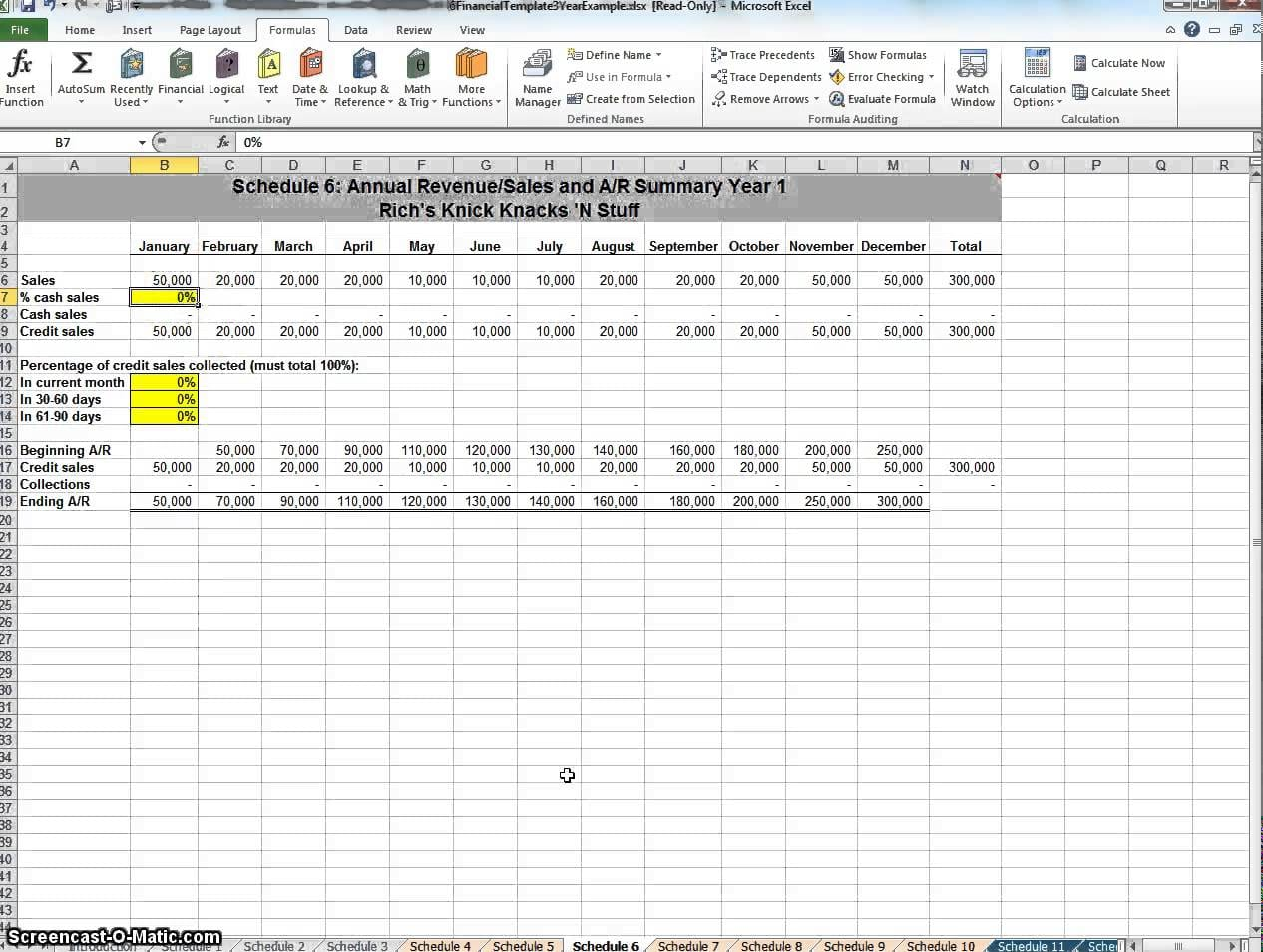 Financial Planning Templates