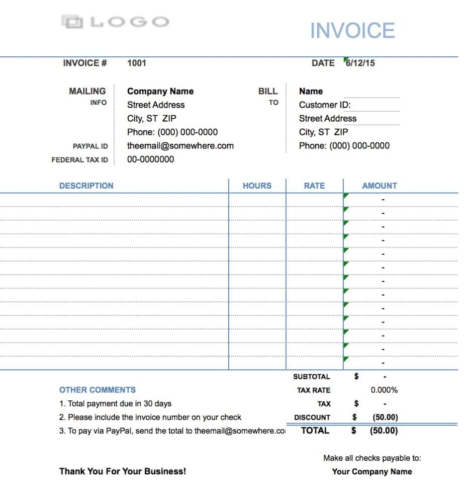Free Consultant Report Template